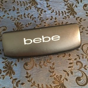 Bebe Black Eye Glass Hard Case 6.25""